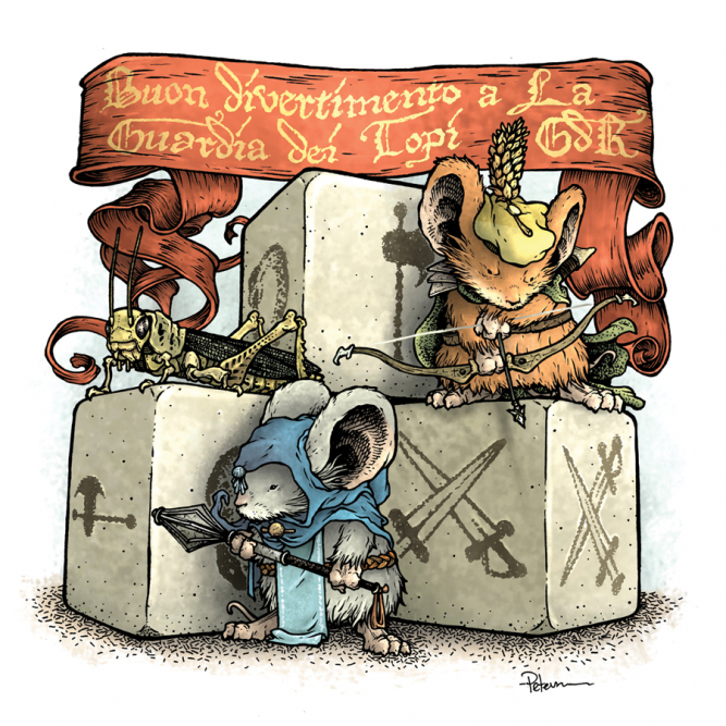 "Call of Master ""Mouse Guard L"